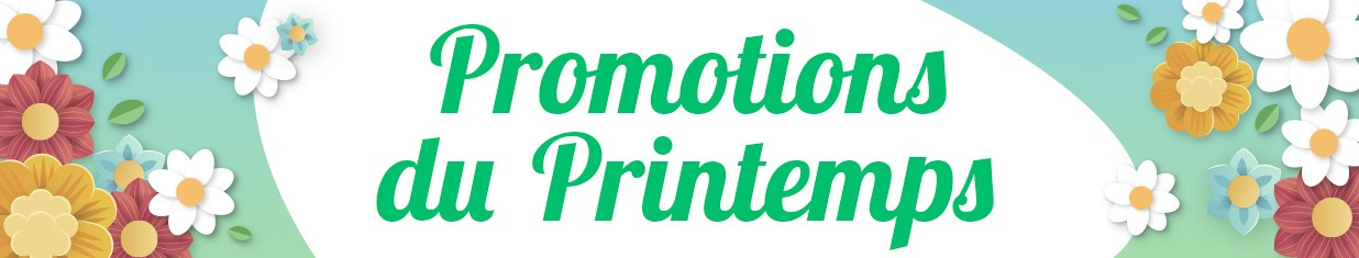 Promotions du printemps